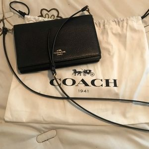 Coach Foldover Crossbody Bag